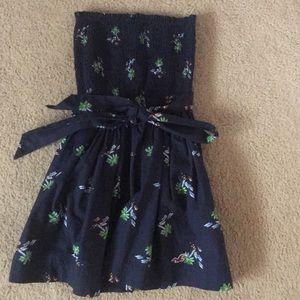 Hollister Strapless Dress